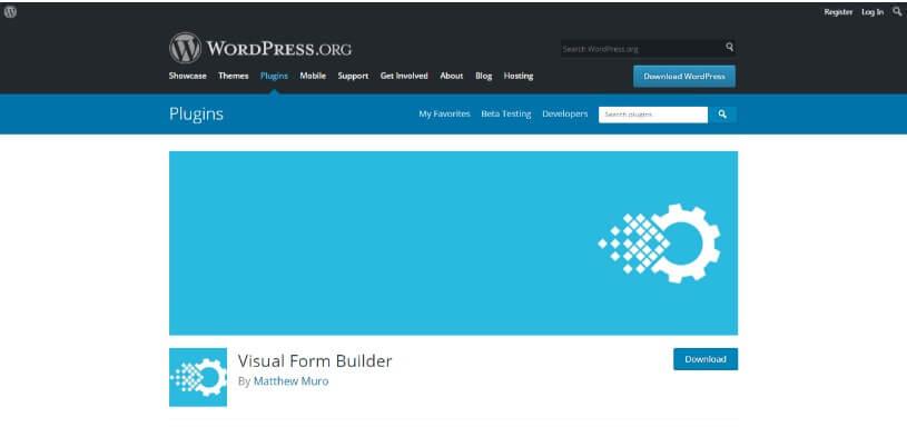 Visual Form Builder