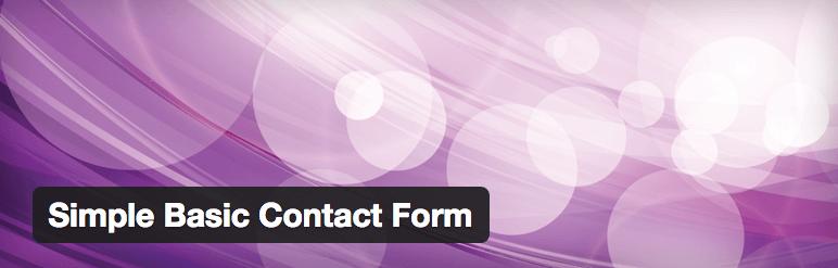 Simple Basic Contact Form plugin logo