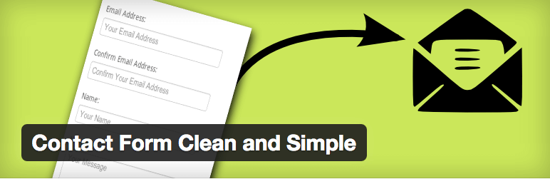 Contact Form Clean and Simple plugin logo