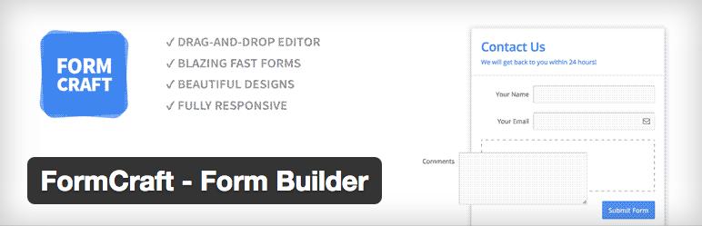 Form Craft Form Builder plugin logo