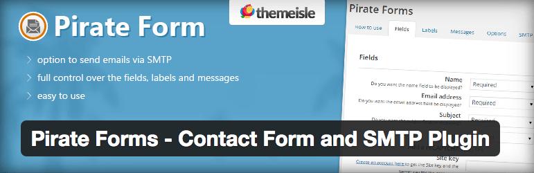 Pirate Forms plugin logo