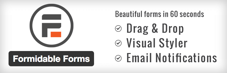 Formidable Forms plugin logo