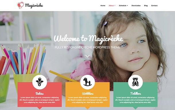 Magicreche-WordPress-Theme