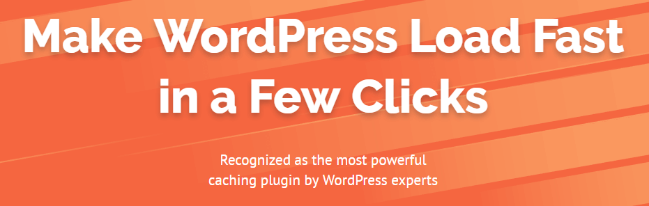The WP Rocket plugin is one of the must-have plugins for WordPress