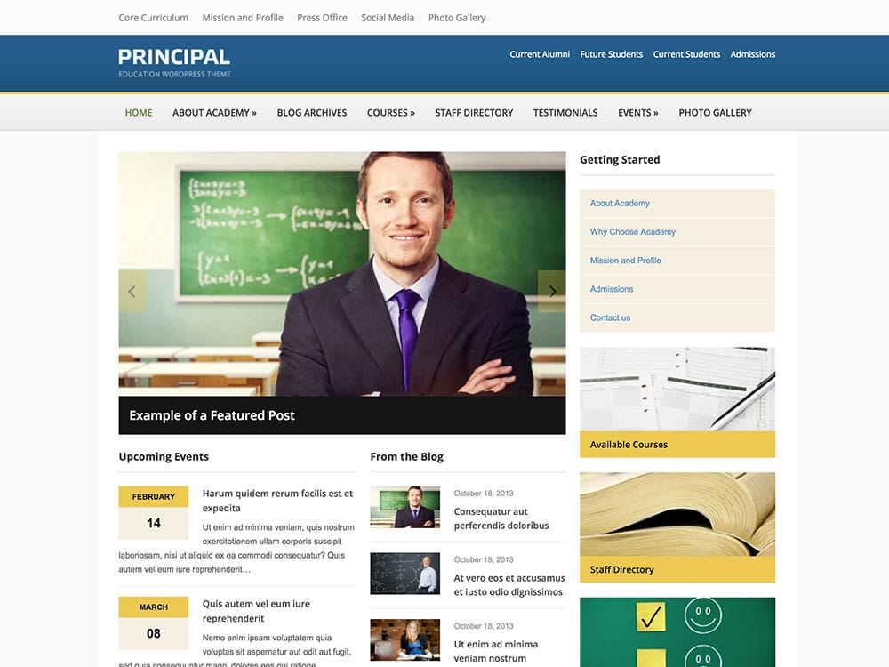 principal-education-wordpress-theme