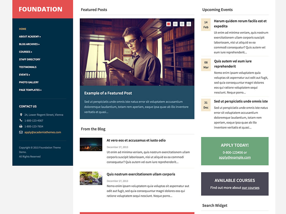 foundation-wordpress-theme