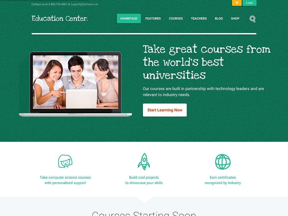 education-center-wordpress-theme