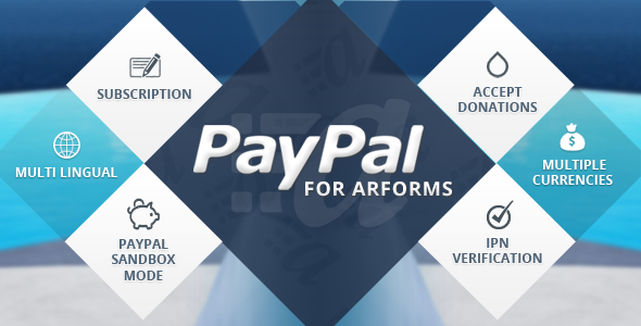 Paypal for Arforms