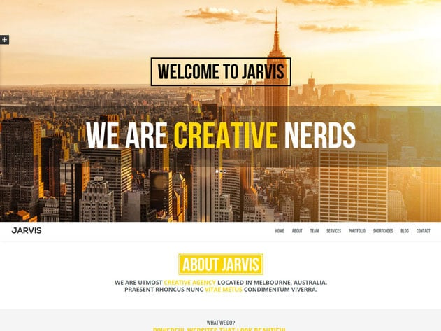 jarvis-one-page-parallax-theme