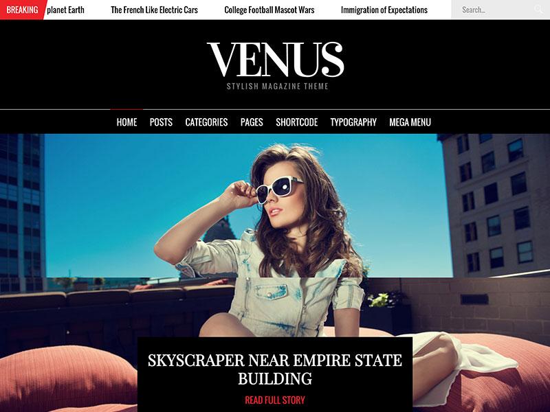 venus-magazine-theme