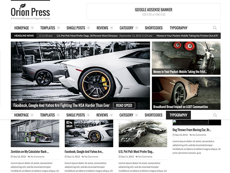 orion-press-magazine-theme