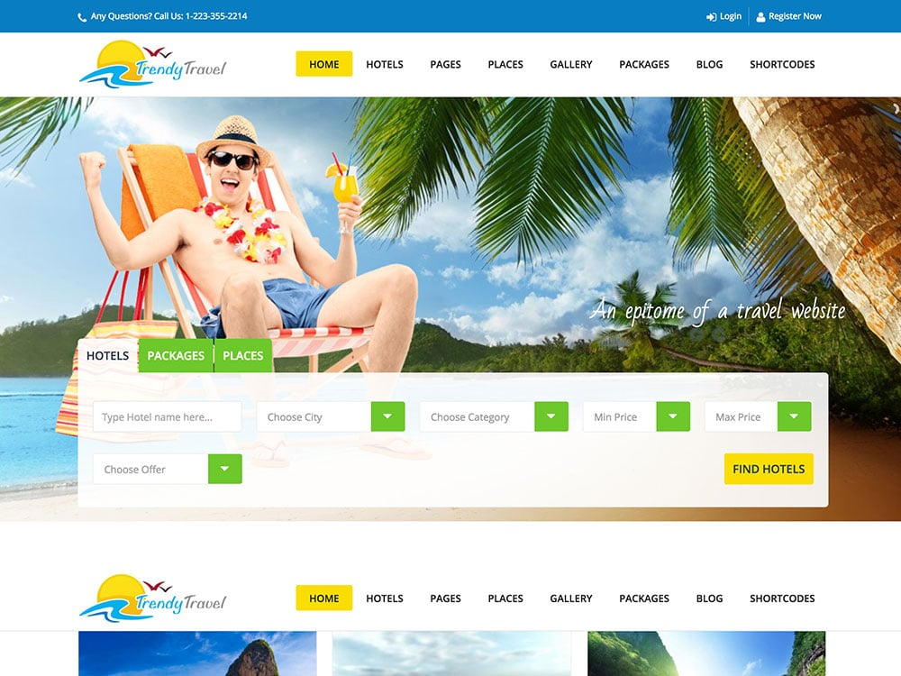 Trendy-Travel-WordPress-Theme