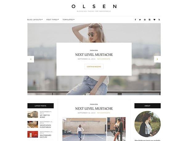 Olsen-Blogging-theme-for-WordPress