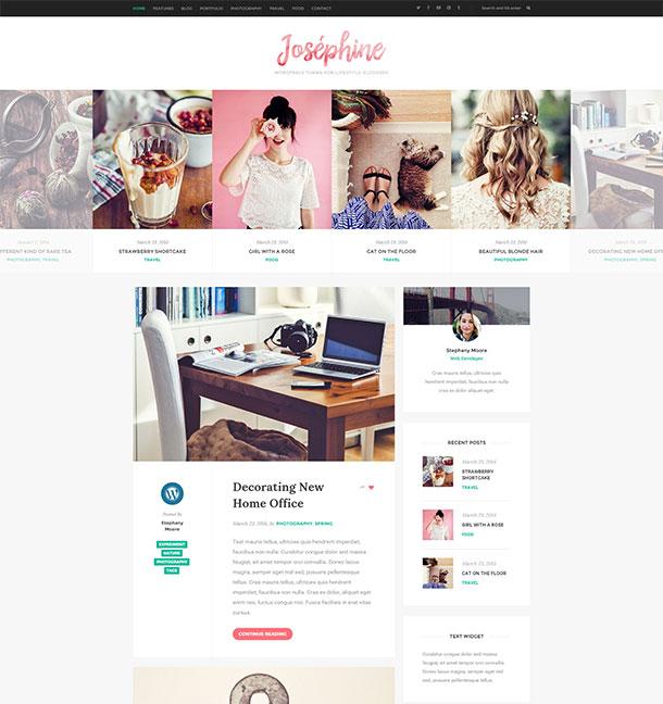 josephine-wordpress-theme-for-lifestyle-bloggers