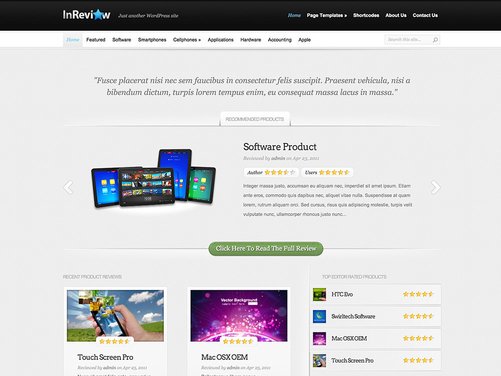inreview-wordpress-theme