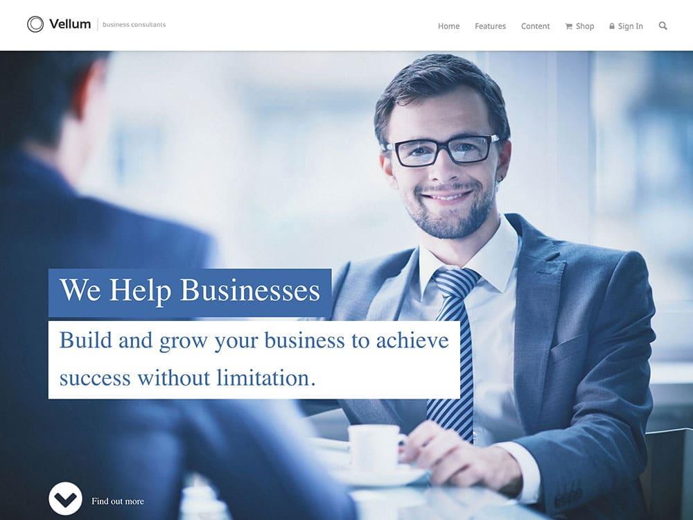 vellum-business-theme
