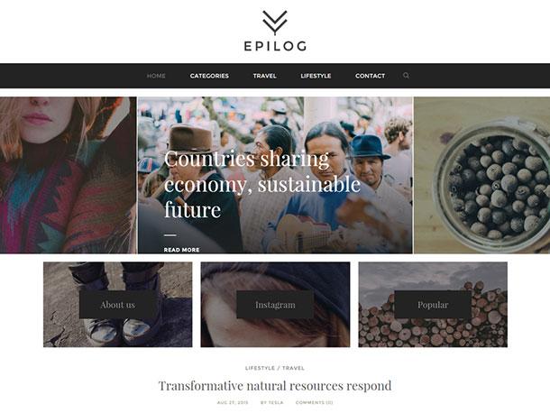 epilog-blogging-wordpress-theme