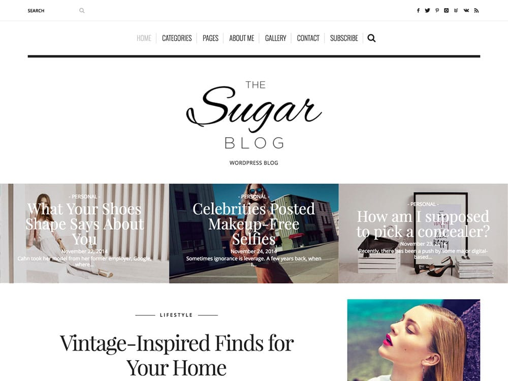 sugarblog-wordpress-theme