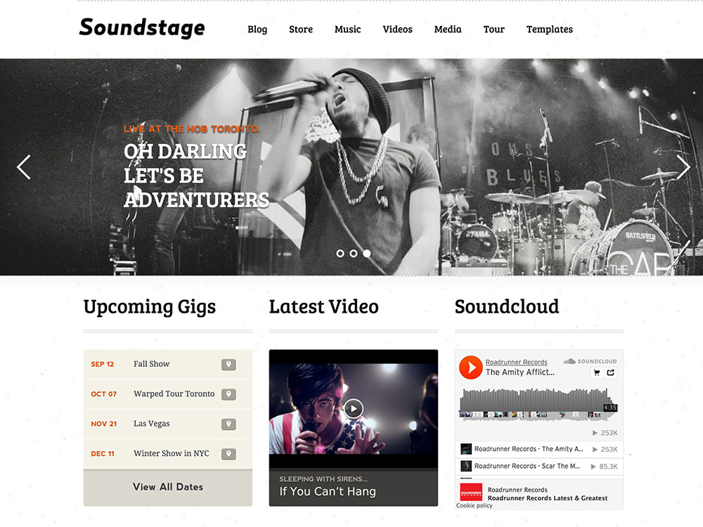 Soundstage-Theme