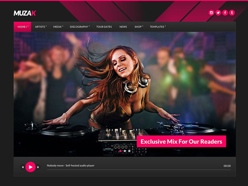 Muzak-Music-WordPress-theme