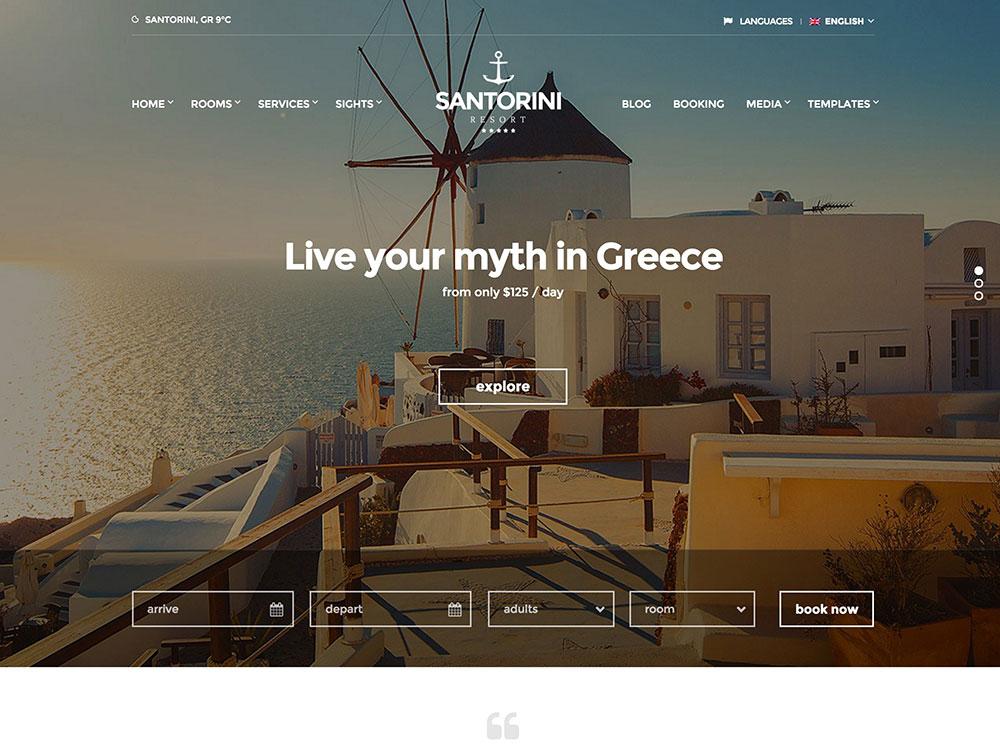 Santorini-Resort-Hotel-Theme-for-WordPress