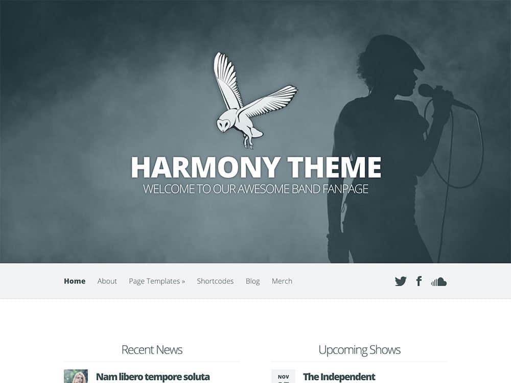 harmony-theme