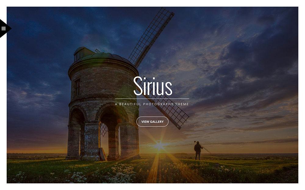 sirius-photography-theme