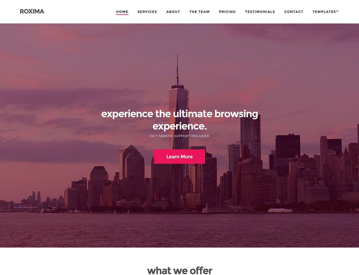 roxima-business-wordpress-theme
