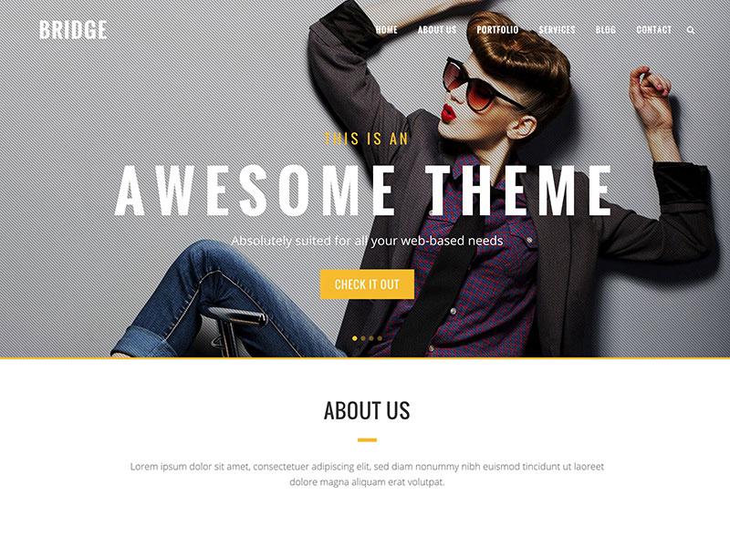 bridge-creative-wordpress-theme
