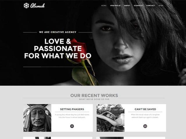 alamak-one-page-portfolio-theme