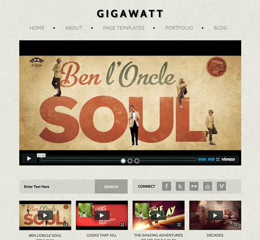 gigawatt-video-theme