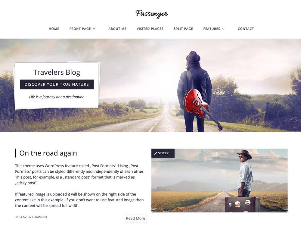Passenger-theme-for-travelers