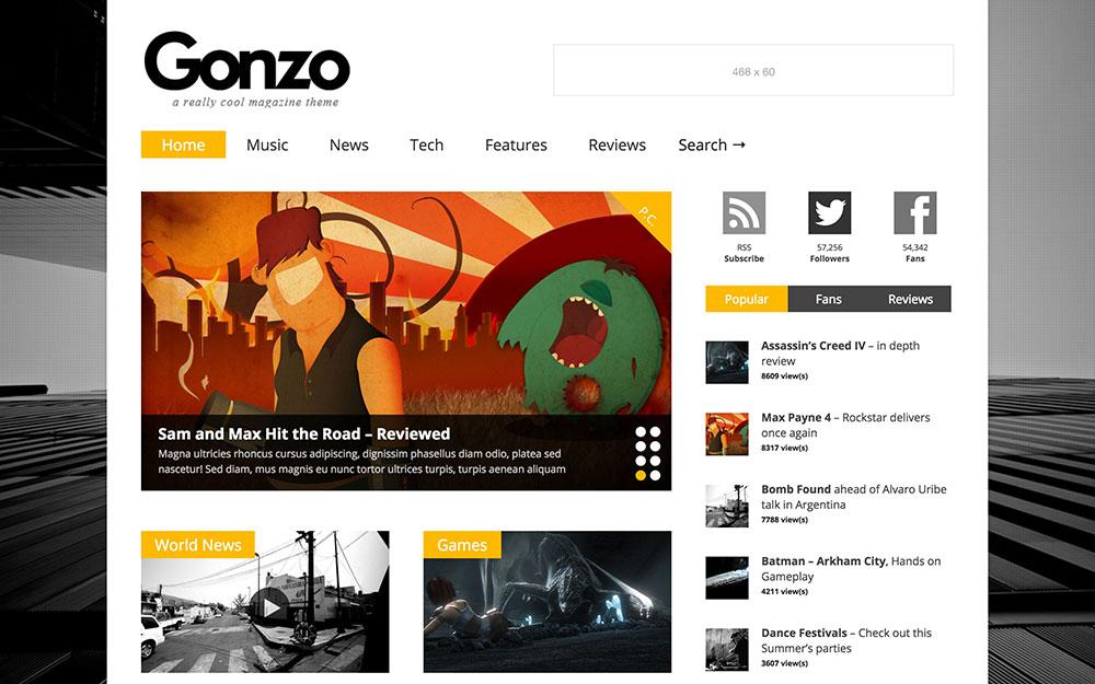 gonzo-magazine-theme