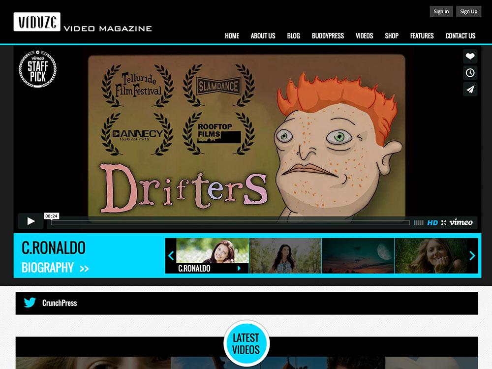 viduze-video-magazine-theme