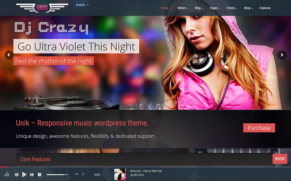 unik-music-wordpress-theme