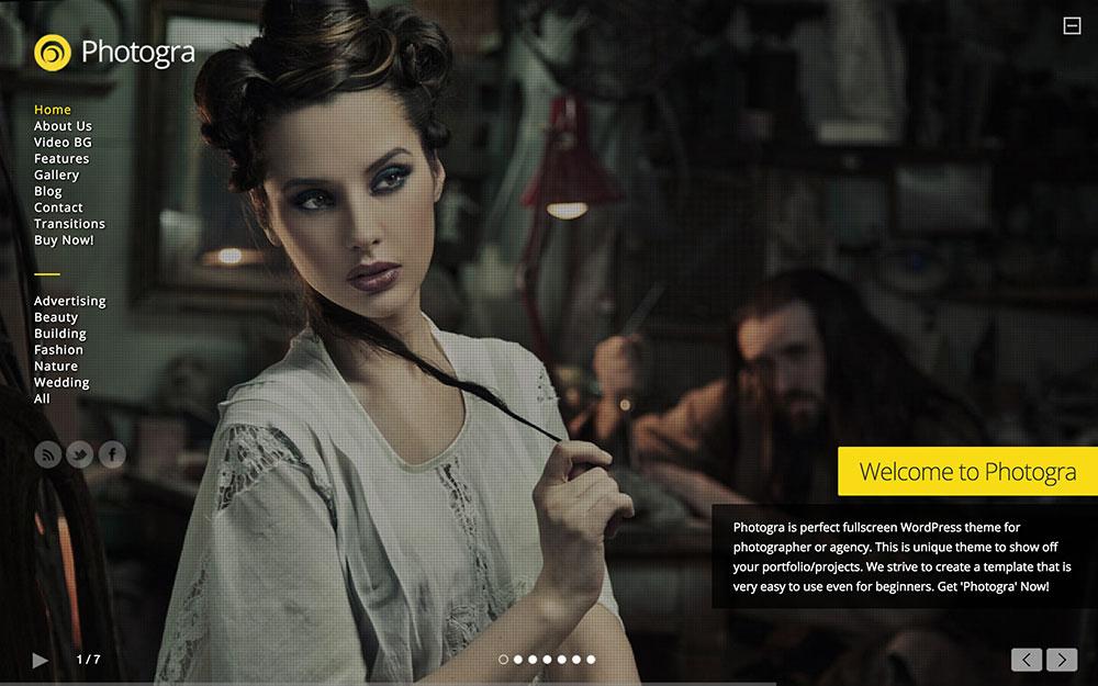 photogra-fullscreen-wp-theme