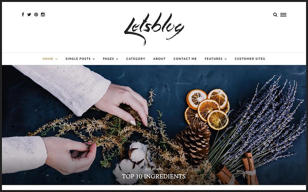 lets-blog-theme