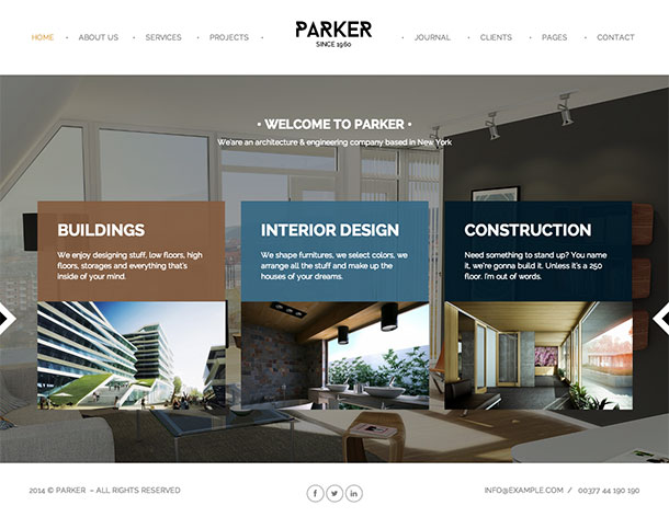 Parker-WordPress-theme