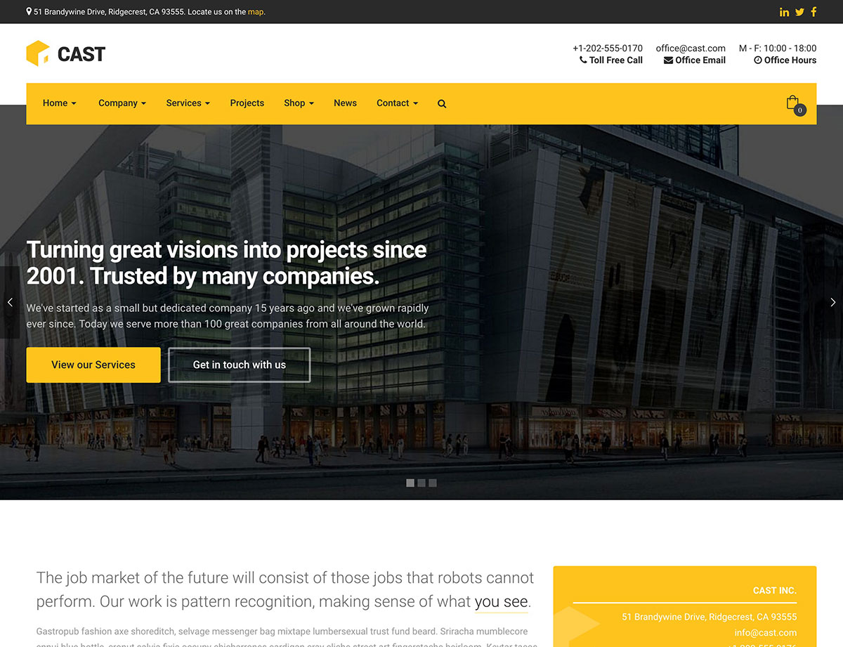 cast-construction-wordpress-theme