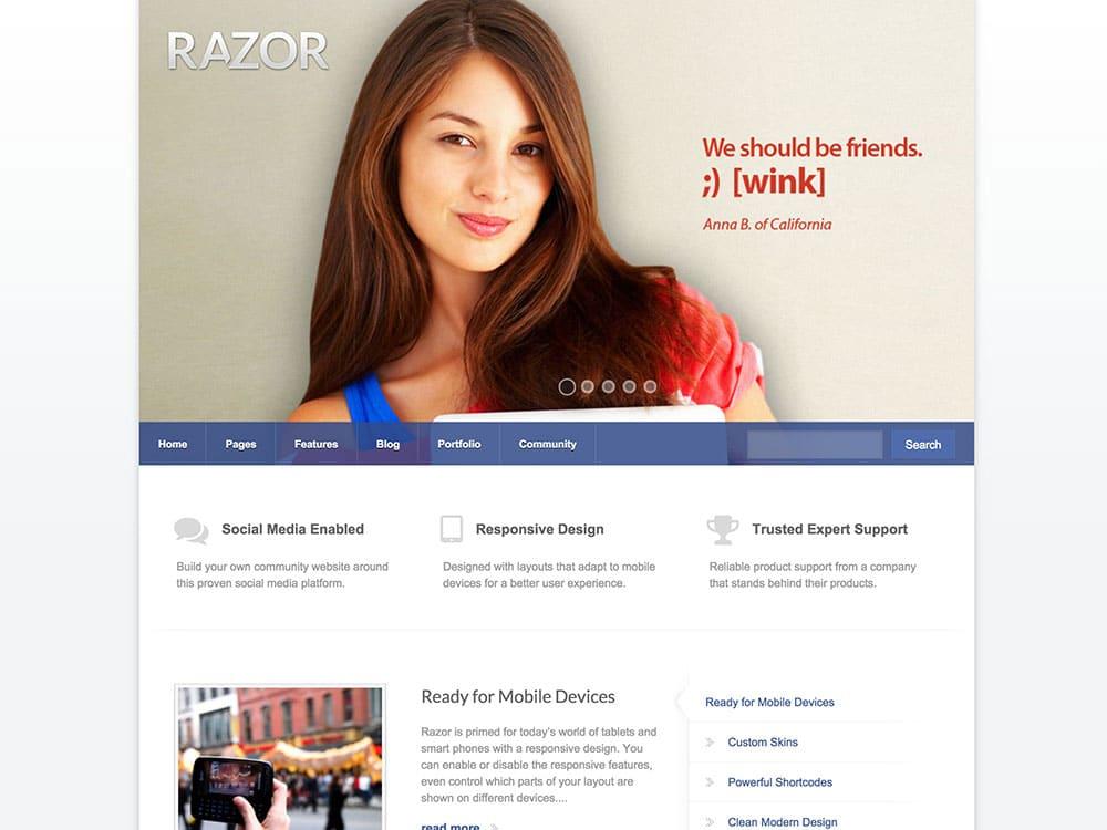 razor-wordpress-theme