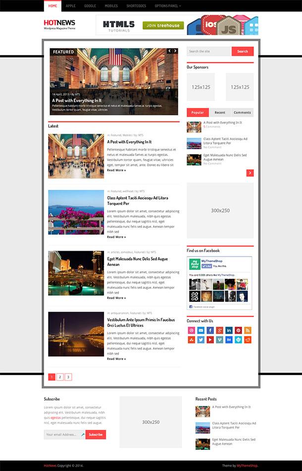 HotNews-WordPress-Theme