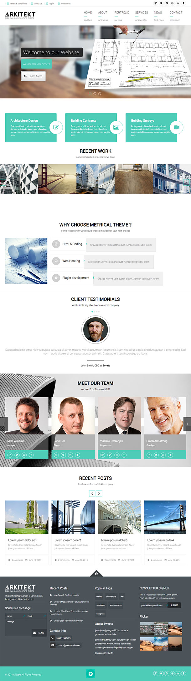 Arkitekt-Wordpress-Theme