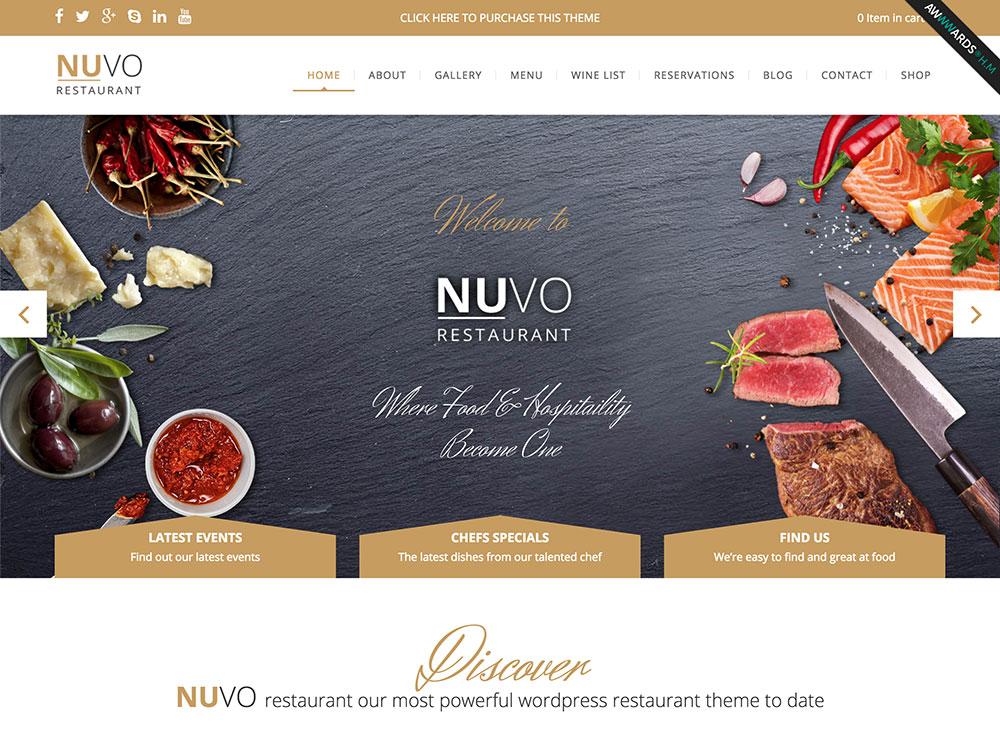 nuvo-restaurant-theme