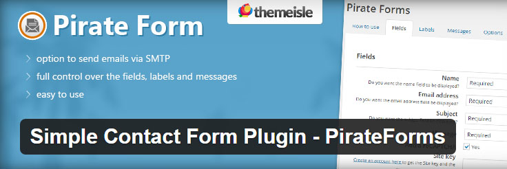 best-contact-forms-WordPress-Pirate-Form-FormGet