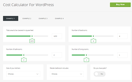 Cost-Calculator-For-WordPress
