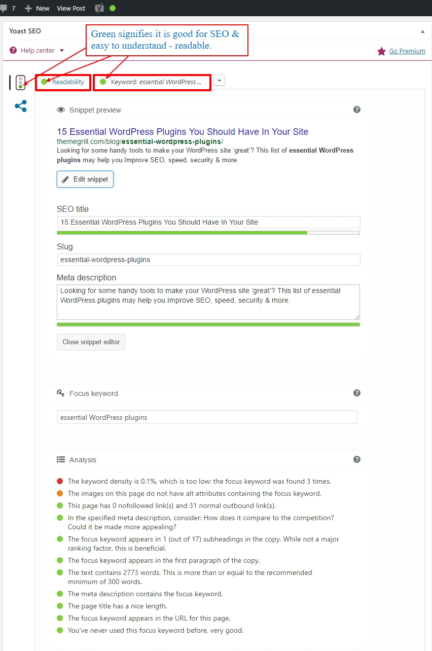 yoast-seo-snippet-and-page-analysis