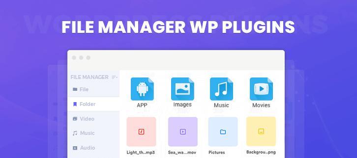 File Manager WordPress Plugins