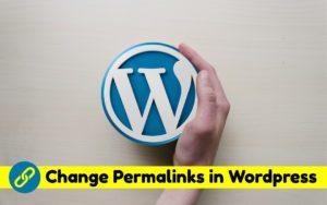 Change Permalinks in WordPress