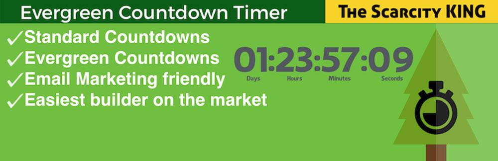 Evergreen Countdown Timer Plugin