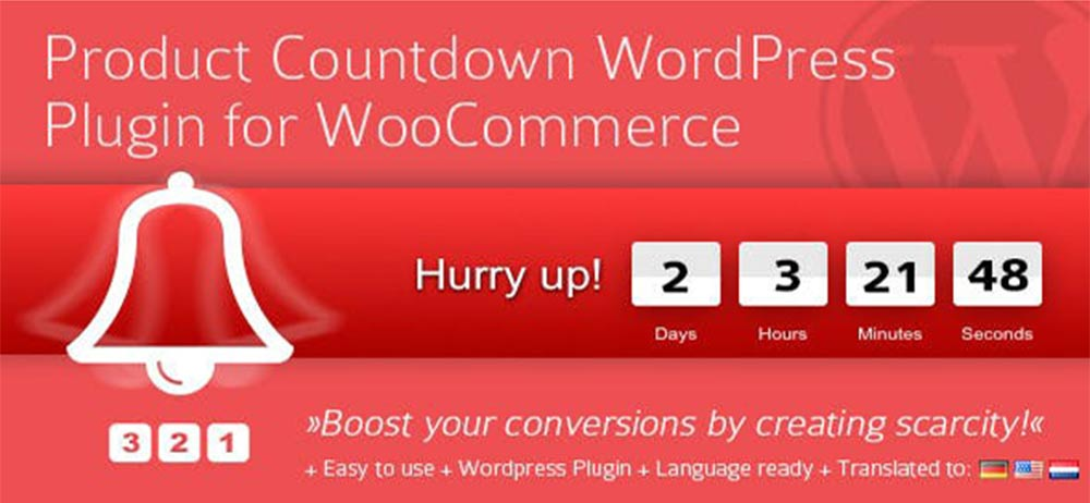 Product Countdown WordPress-Plugin